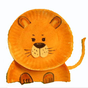 Paper Plate Lion Craft from .daniellesplace.com  sc 1 st  Danielleu0027s Place & Lion Crafts