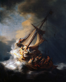 Rembrandt's Christ in the Storm on the Lake of Galilee