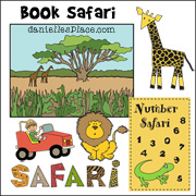 Book Safari Crafts and Learning Activities