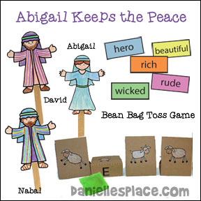 Abigail Bible Lesson from www.daniellesplace.com