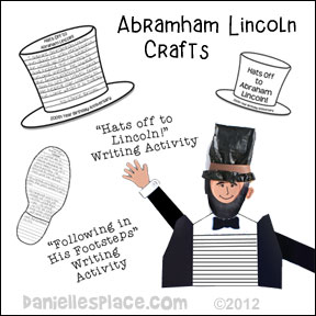 Abraham Lincoln Crafts and Learning Activities