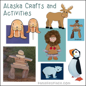 Alaska Crafts for Kids from www.daniellesplace.com