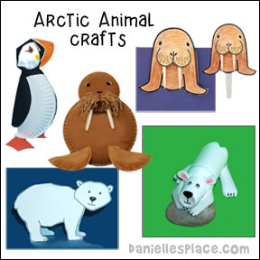 Arctic Animals Crafts and Learning Activities for Kids from www.daniellesplace.com