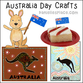Australia Day Crafts and Learning Activities for Children