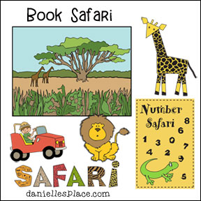 Book Safari - Crafts and Learning Activities for Children