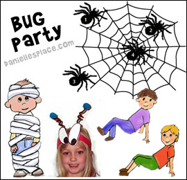 Bug Party Games and Crafts for Kids