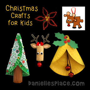 Christmas Crafts for Kids Page 3 from www.daniellesplace.com