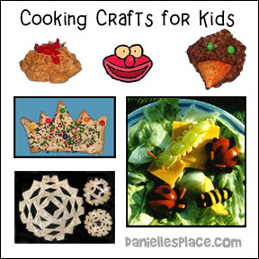 Cooking Crafts for Kids from www.daniellesplace.com