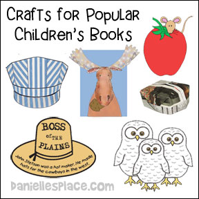 Crafts for Popular Children's Books