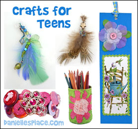 Craft for Teens from www.daniellesplace.com