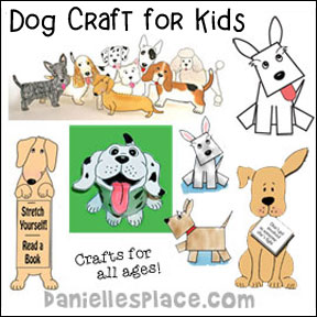 Fast and Easy Crafts for Kids from Danielle\'s Place Beginning with ...