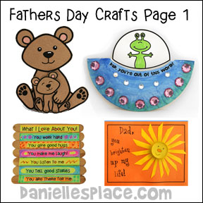 Father's Day Card Craft - No bones About it www.daniellesplace.com