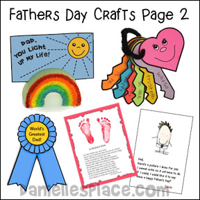 Rainbow Father's Day Craft for Kids made from a pool noodle from www.daniellesplace.com