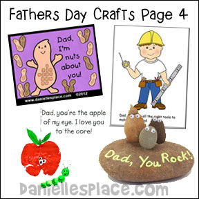 Father's Day Crafts for Kids Page 4