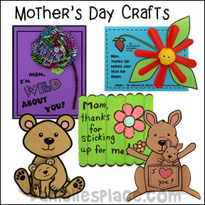 Mother's Day Craft Page 1