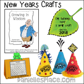 New Years Crafts for Kids from www.daniellesplace.com