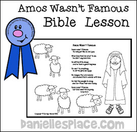Amos Bible Lesson for Children from www.daniellesplace.com