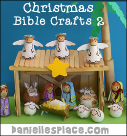 Bible Christmas Crafts for Kids from www.daniellesplace.com