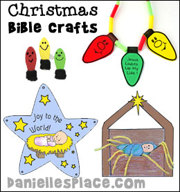 bible christmas crafts