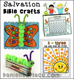 Bible Crafts for Sunday School - Salvation  from www.daniellesplace.com
