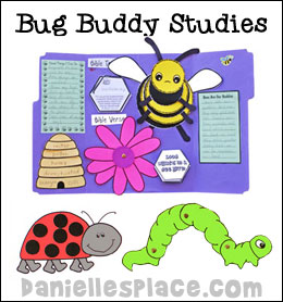 Bug Buddies Study Bible Lessons for Sunday School from www.daniellesplace.com