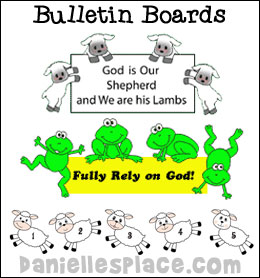 Bulletin Board Displays for Sunday School from www.daniellesplace.com