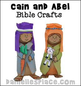 Bible Lessons for Children - Cain and Abel Sunday School Lesson from www.daniellesplace.com