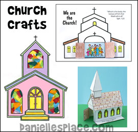 Church Bible Crafts for Sunday School from www.daniellesplace.com