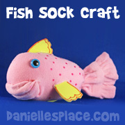 Fish Sock Craft