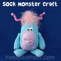 Sock Monster Craft