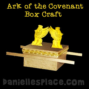 Ark of the Covenant Box Craft for Sunday School from www.daniellesplace.com