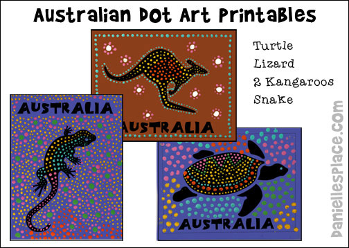 australia day craft coloring pages - photo#34