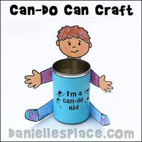 Can-do Kid Can Craft for Sunday School  from www.daniellesplace.com