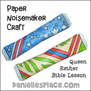 sunday school paper haman noise maker bible craft for childrens ministry