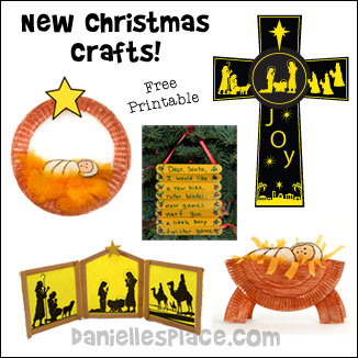 New Christmas Crafts on Danielle's Place from www.daniellesplace.com