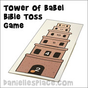 Tower of Babel Toss Game
