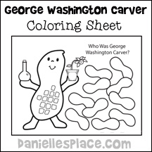 George Washington Quarter Coloring Page