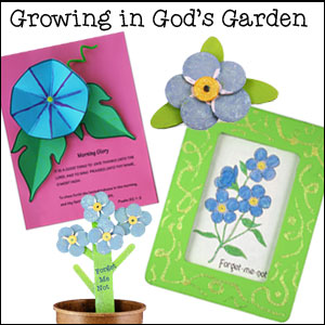 Growing in God's Garden Sunday School Lesson from www.daniellesplace.com