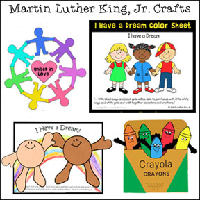 martin luther king crafts