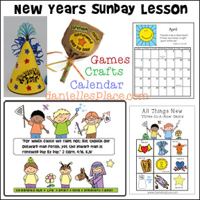 New Years Bible Lesson for Sunday School