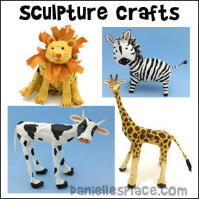 Sculpture Crafts for Kids from www.daniellesplace.com