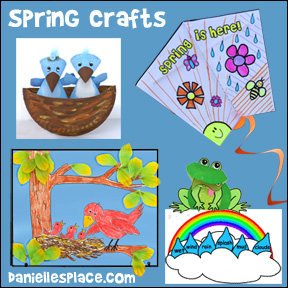 Spring Crafts and Learning Activities from www.daniellesplace.com