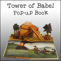 Tower of Babel Pop-up Book