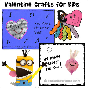 Valentine's Day Crafts for Kids Page 2