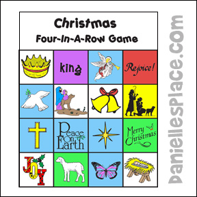 Christmas Bingo Game for Children's Ministry from www.daniellesplace.com