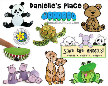 Danielle's Place of Crafts and Activities where you will find thousands of Crafts and Learning Activiteis for home school and other educational purposes.