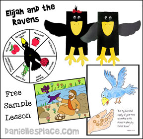 Elijah and the Ravens Free Sample Bible Lesson