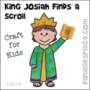 """King Josiah Finds a Scroll"" Bible Craft for Children's Ministry, Sunday School, and Children's church from www.daniellesplace.com"