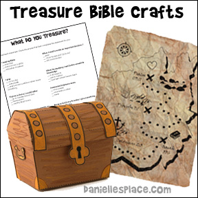 Tresure Bible Crafts and Activities for Sunday School from www.daniellesplace.com