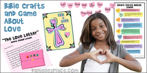Bible Lessons About Love for Children's Ministry from www.daniellesplace.com